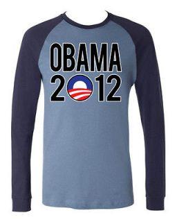 Obama 2012 Election President Campaign Forward New Baseball Tee Shirt