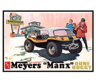AMT Meyers Manx DUNE BUGGY 4n1 NEW Model Car Mountain KIT 1/25 FS