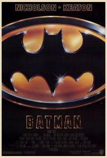 ) 27x40 Movie Poster Michael Keaton, Jack Nicholson, Kim Basinger A