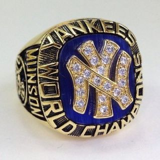 1977 New York Yankees Championship World Series Ring Thurman Munson NY