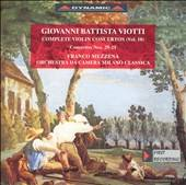 Giovanni Battista Viotti Violin Concerto Nos. 29 and 21 by Franco