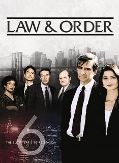 Law Order   The Sixth Year DVD, 2008, 5 Disc Set