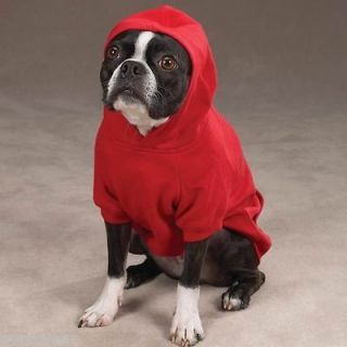 MEDIUM DOG SWEAT SHIRT pug beagle westie dachshund DOG HOODIE COAT