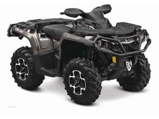 2012 Can Am Outlander 1000 EFI XT