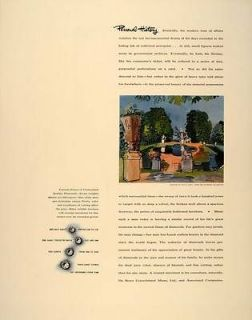 1941 Ad De Beers Diamonds Prices Garden Raoul Dufy   ORIGINAL