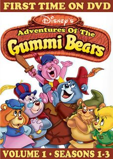 Disneys Adventures of the Gummi Bears DVD, 2006, 3 Disc Set