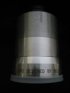 Bell & Howell Super D Proval 2 inch F/1.4 Film Projector Lens.