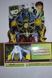Ben 10 Hyperalien Action Figure   ULTIMATE AGGREGOR 4  Action Figure