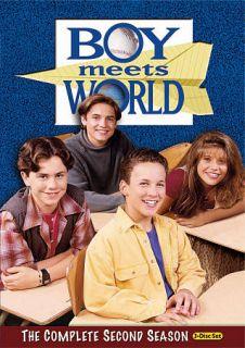 Boy Meets World   The Complete Second Season DVD, 2010, 3 Disc Set