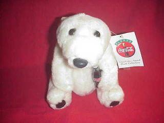 COLLECTIBLE COCA COLA TEDDY BEAR