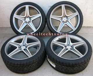 22 MERCEDES BENZ WHEEL AND TIRE PACKAGE   RIMS FIT MBZ ML350, ML500
