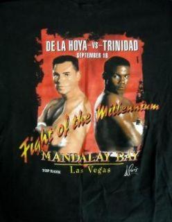Oscar De la Hoya vs. Felix Trinidad LRG T shirt 1999