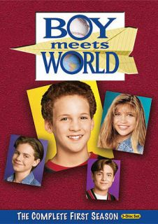 Boy Meets World   The Complete First Season DVD, 2010, 3 Disc Set