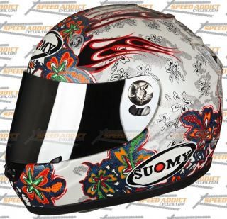 Suomy Vandal Flowers Full Face Helmet MD