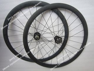 700C 38mm tubular cyclocross full carbon bike wheelset,disk brake