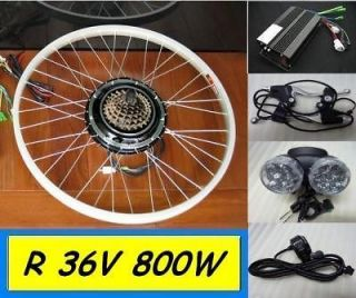 48V 700W F Electric Bicycle Kit Hub Motor Scooters Conversion By Sea 7