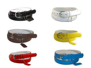 NWT WOMEN/LADIES Skinny Leather Belt PLUS SIZE / 2XL / XXL / 6 COLORS