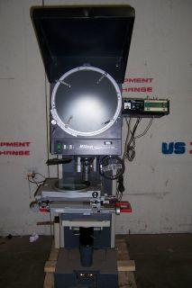 5095 Nikon V 16E Profile Projector Optical Comparator 10x 50x 100x 16
