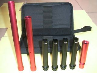 Paintball Swift Barrel Kit for Autococker Red