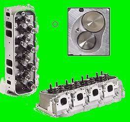 Pro Comp BBC Big Block Chevy Rectangle Aluminum Heads 454 502 Complete