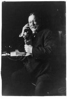 President William Howard Taft,telephone,communication,speaking