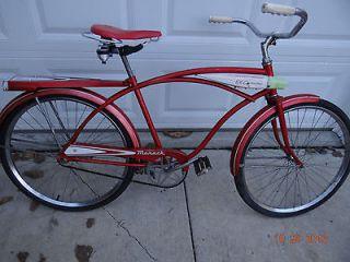 Monark El Camino 24 Single Speed Tank Bicycle/Bike Silver King Seat