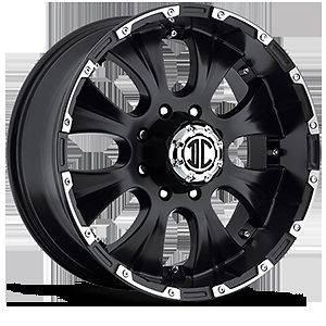 22 Inch 5x5.5 5x139.7 Black Extreme NX 2 Wheels Rims 5 Lug Dodge Ram