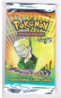 RARE POKEMON CARDS GYM HEROES BOOSTER PACK