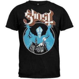 GHOST OPUS EPONYMOUS TOUR 2012 BLACK TEE SHIRT S,M,L,XL,2XL AUCTION