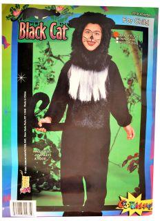 BLACK CAT Halloween jumpsuit COSTUME ~ size toddler 2 4 infant child