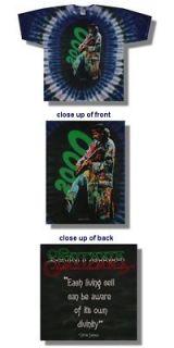 New Authentic Santana 2000 Tour T Shirt Mens Large