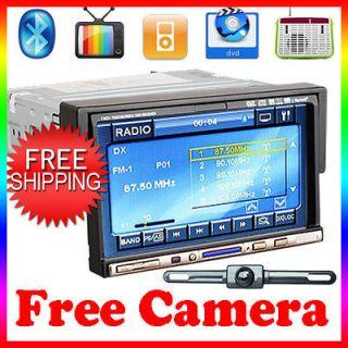 OEM 7 TOUCH SCREEN CAR DVD PLAYER RADIO iPod BLUETOOTH USB SD A2DP TV