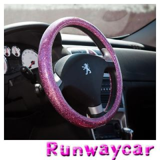 pink steering wheel cover in Steering Wheels & Horns