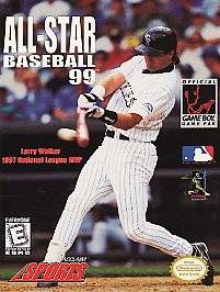 All Star Baseball 99 Nintendo Game Boy, 1998