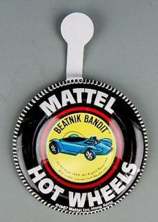 798 Original 1967 Hot Wheels Pin Badge for BEATNIK BANDIT Redline