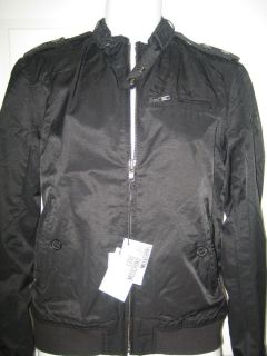Moschino Men Moto Bomber Jacket Size 48   52 NWT $795