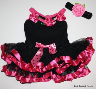 POPATU TUTU DANCE PAGEANT COSTUME DRESS OUTFIT GIRLS SIZE S 4 DRESS