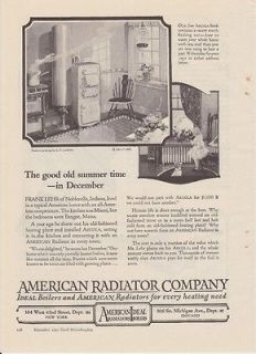 Home Decor L. CARROLL American Radiator Steam Cast Iron Original AD