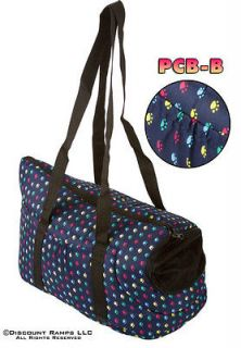 BLUE PET CARRIER TOTE BAG PURSE YORKIE CHIHUAHUA DOG (PCB B)