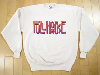 WOW 90s vintage FULL HOUSE tv show PROMO SWEAT SHIRT john stamos