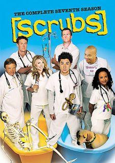 Scrubs   The Complete Seventh Season DVD, 2008, 2 Disc Set