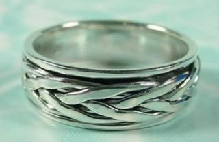 Jewelry & Watches  Mens Jewelry  Rings  Sterling Silver (w/o Stone