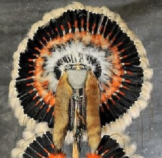 Native American Thunderbird War Bonnet Headdress