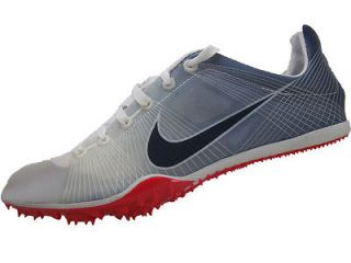 Mens Nike Zoom Victory Track Cleats New Size 5 White Obsidian Red