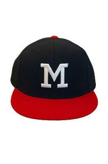 1953 Milwaukee Braves Fitted Baseball Cap Hat High Profile NWT
