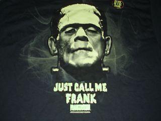 Frankenstein T shirt Boris Karloff Halloween Universal Studios