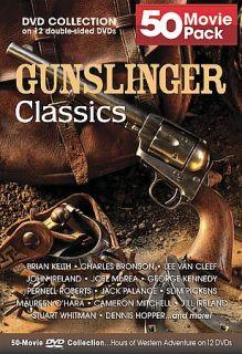 Gunslinger Classic 50 Movie Pack DVD, 2005, 12 Disc Set