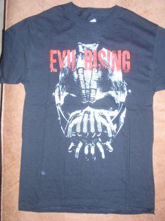 Mens DC Comics Batman Dark Knight Rises Bane Evil Rising T Shirt New