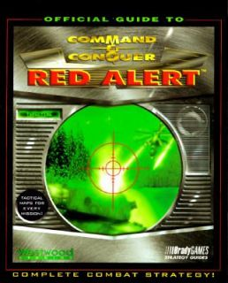 and Conquer Red Alert by Brady Games Staff 1996, Paperback