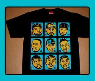 Cajmear Wu Tang Clan Brady Bunch shirt wear wutang rza gza odb method